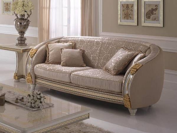 Art Nouveau 3 seater sofa LIBERTY | 3 seater sofa by Arredoclassic