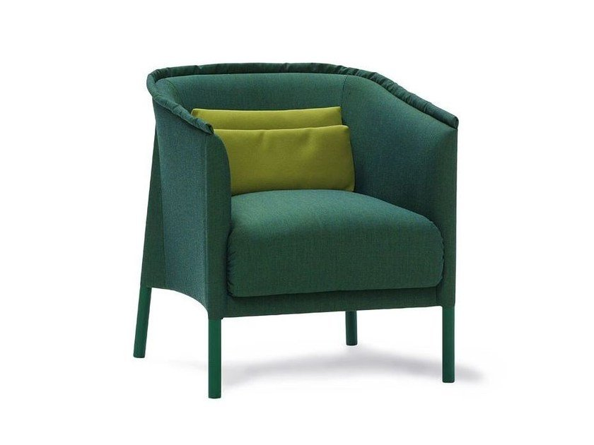 Fabric easy chair with armrests TALO   Easy chair by Sancal