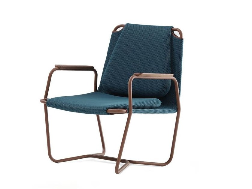 Easy chair with armrests CASTA | Easy chair by Sancal