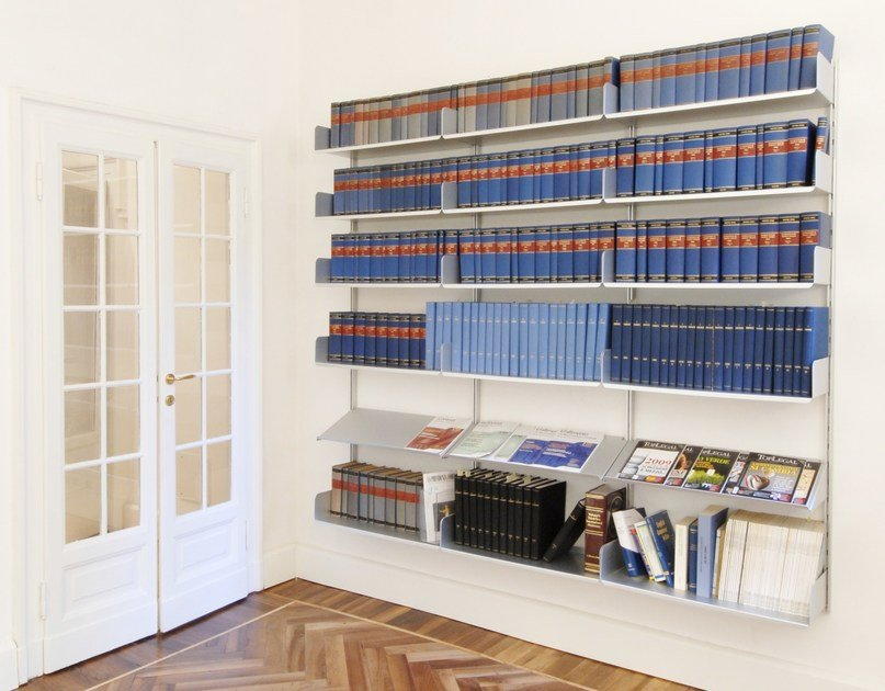 Modular aluminium office shelving K1 | Office shelving by KRIPTONITE