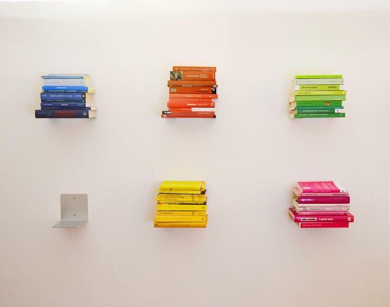 Aluminium wall shelf MINUS by KRIPTONITE