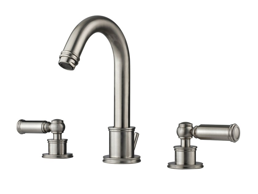 3 hole countertop washbasin tap LIBERTY | 3 hole washbasin tap by Bossini