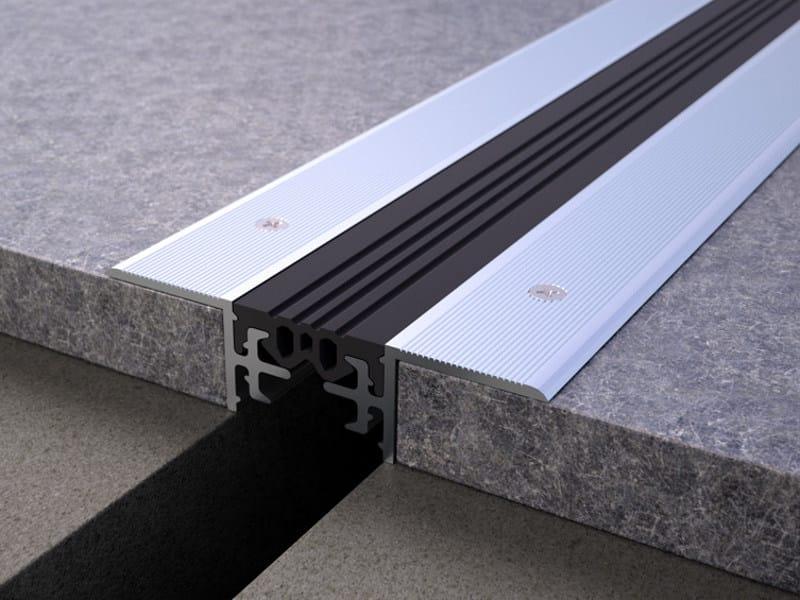 Aluminium Flooring joint NOVOJUNTA PRO® NON-SLIP by EMAC Italia