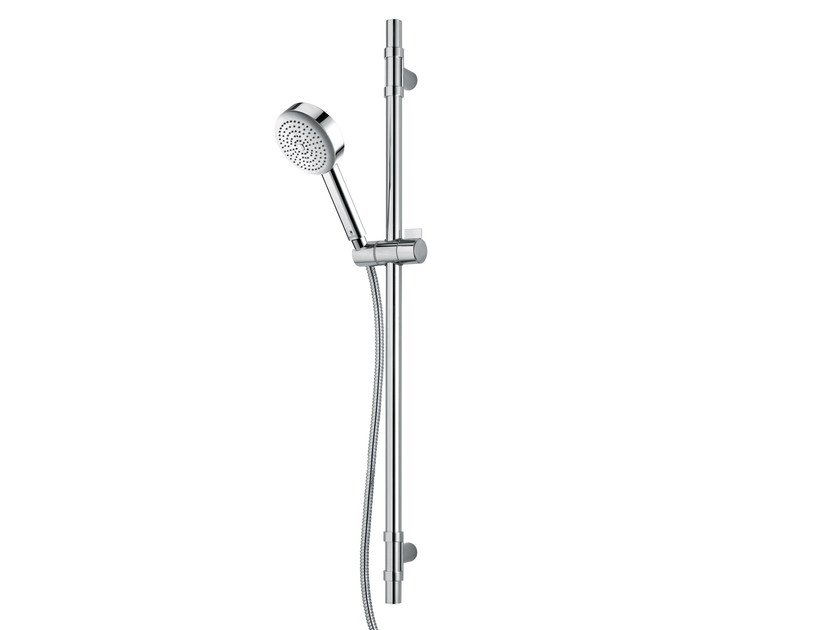 Brass shower wallbar with hand shower DA3 HOKEY by Bossini