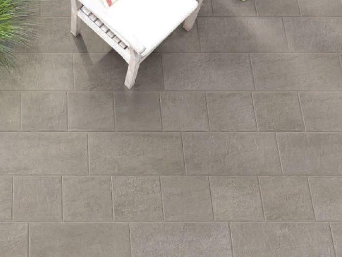 Porcelain stoneware outdoor floor tiles PAVÈ  WALKING by Sichenia