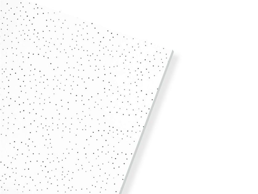 Plasterboard ceiling tiles THERMATEX STAR by Knauf Italia