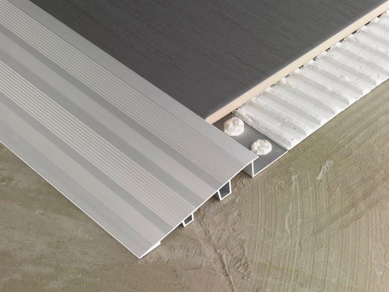 Aluminium flooring profile NOVONIVEL® FORTE by EMAC Italia