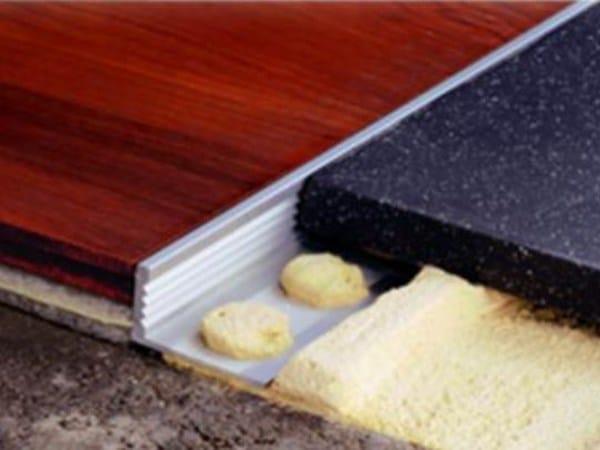 Metal Flooring joint NOVOSUELO by EMAC Italia