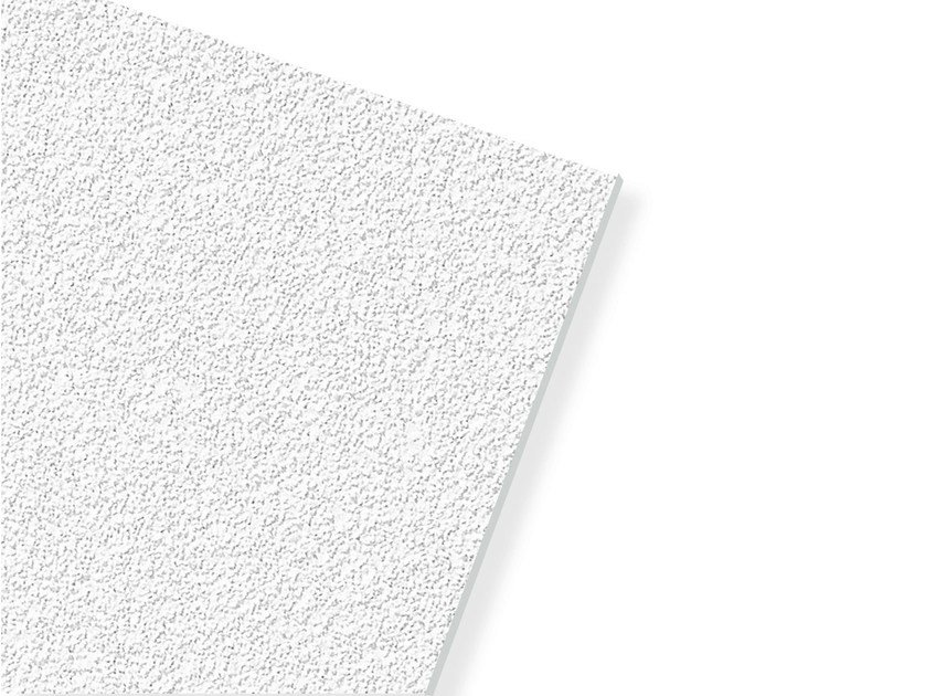 Plasterboard ceiling tiles ECOMIN ORBIT by Knauf Italia