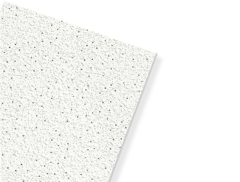 Plasterboard ceiling tiles ECOMIN ORBIT MICRO by Knauf Italia