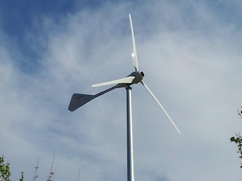 Vertical Wind power system MANNIBLAST by MANNI ENERGY