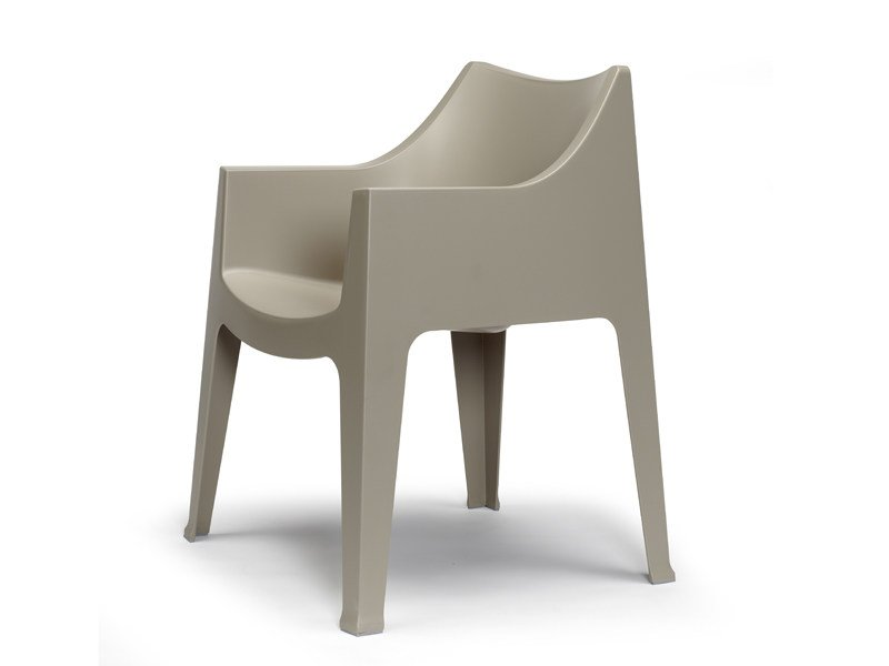 Stackable polypropylene chair with armrests COCCOLONA | Stackable chair by SCAB DESIGN