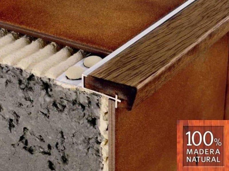Wooden Step nosing NOVOPELDAÑO® 2 CLASSIC by EMAC Italia