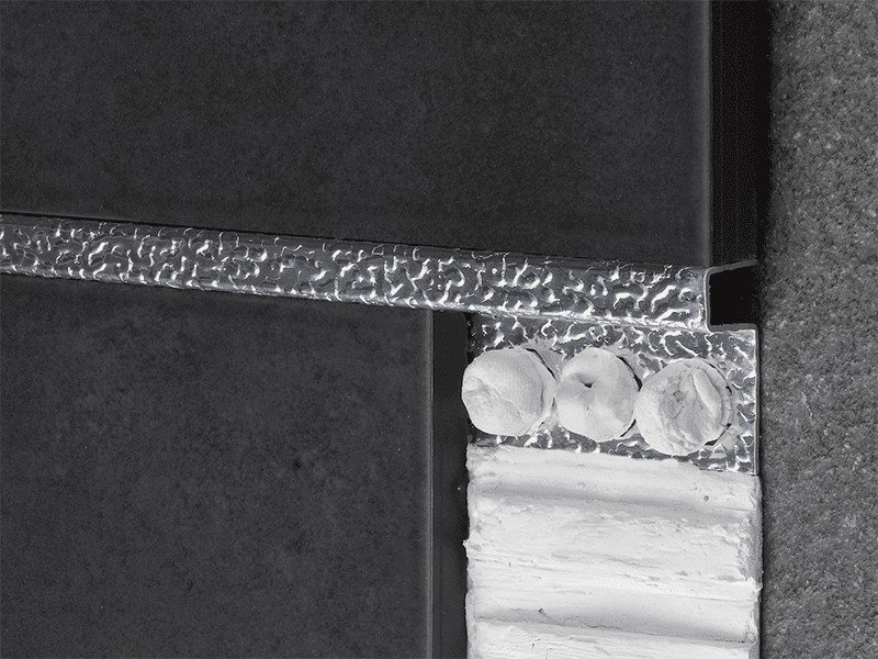 Decorative edge profile for walls NOVOLISTEL® TEXTURAS by EMAC Italia