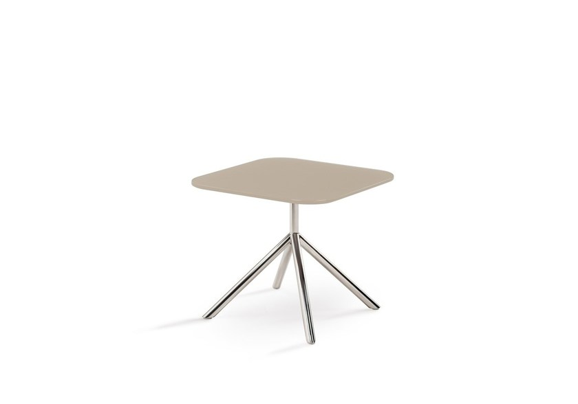 Design glass garden side table SHELL SIDE 40 | side table by FueraDentro