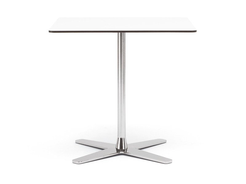 Square wooden coffee table PROPELLER | Square coffee table by Offecct