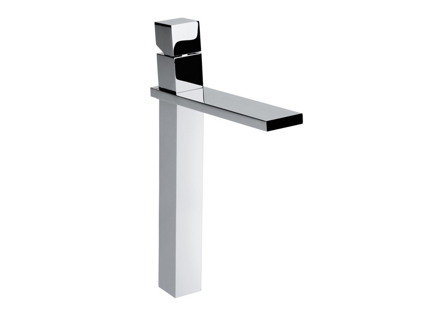 Design countertop single handle brass washbasin tap CUBE | Washbasin tap by Bossini