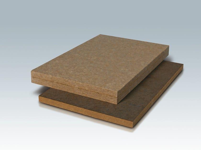 Wood fibre thermal insulation panel Wood fiber thermal insulation panel by DAMIANI-HOLZ