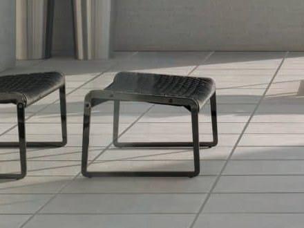 Design sled base footstool WING | Footstool by ALIVAR