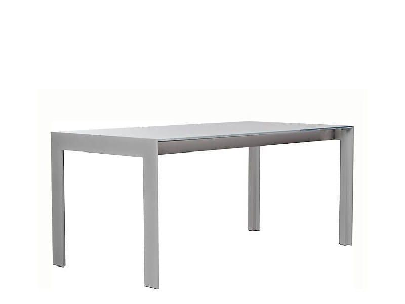 Rectangular aluminium table MATRIX   Rectangular table by PEDRALI