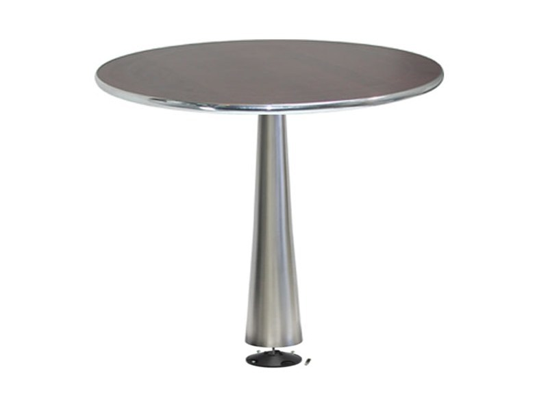 Stainless steel table CONO-X by Vela Arredamenti