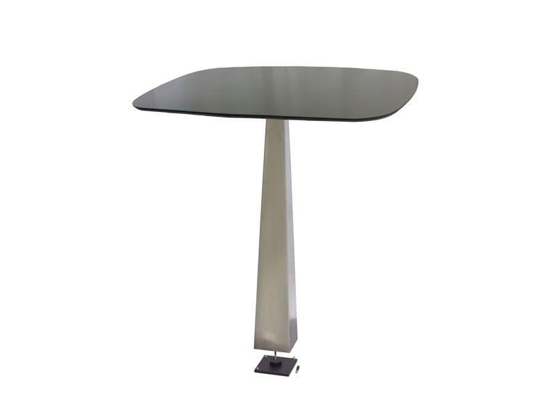 Stainless steel table PIRA-X by Vela Arredamenti