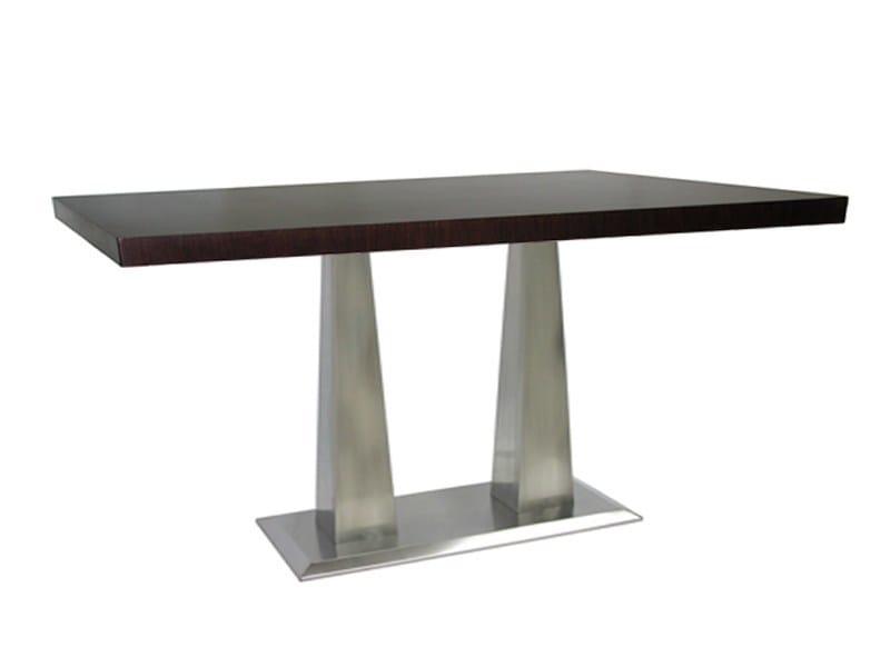 Rectangular stainless steel table ISOPIRA-64-X by Vela Arredamenti