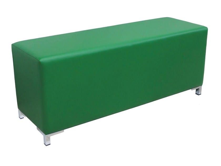 Imitation leather pouf / bench POUF-RET-S by Vela Arredamenti