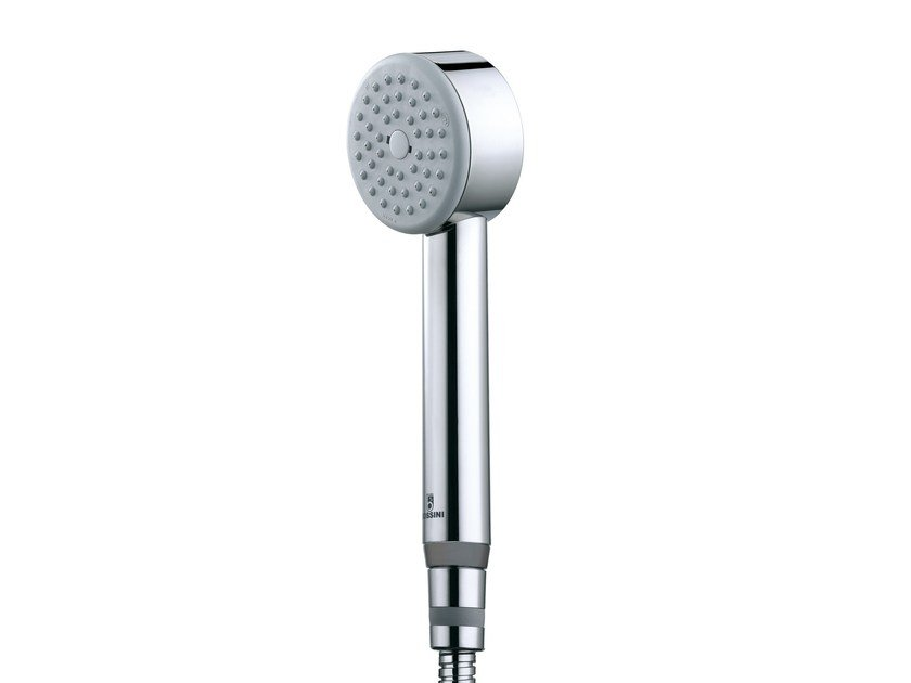 Design 1-spray chrome-plated handshower with anti-lime system CYLINDRICA/1 | Handshower by Bossini