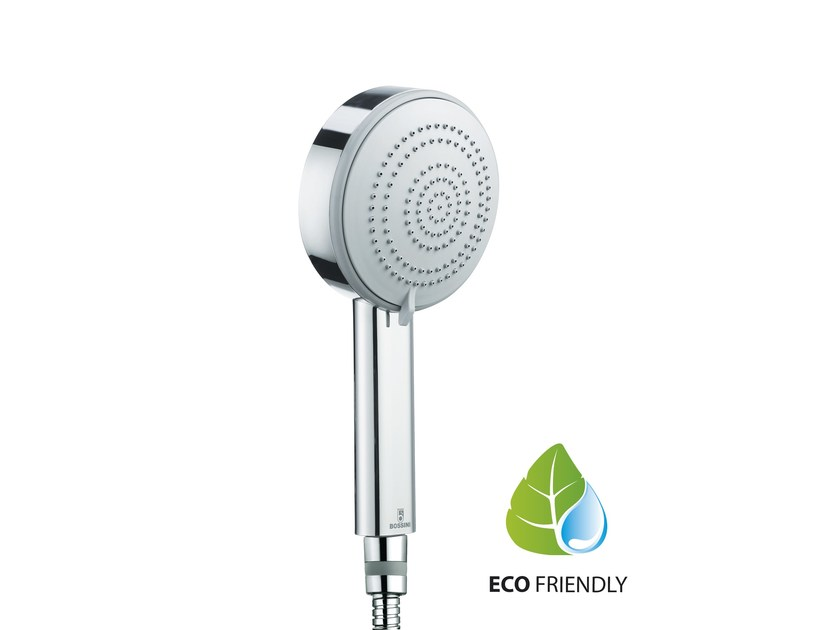 Design 3-spray handshower with anti-lime system DINAMICA/3 Ø 110 | 3-spray handshower by Bossini