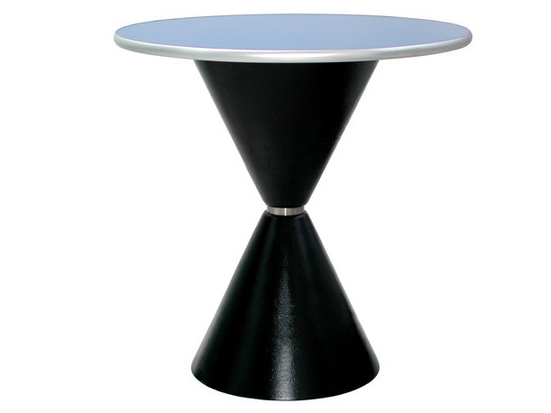 Round cast iron table CLESSIDRA by Vela Arredamenti