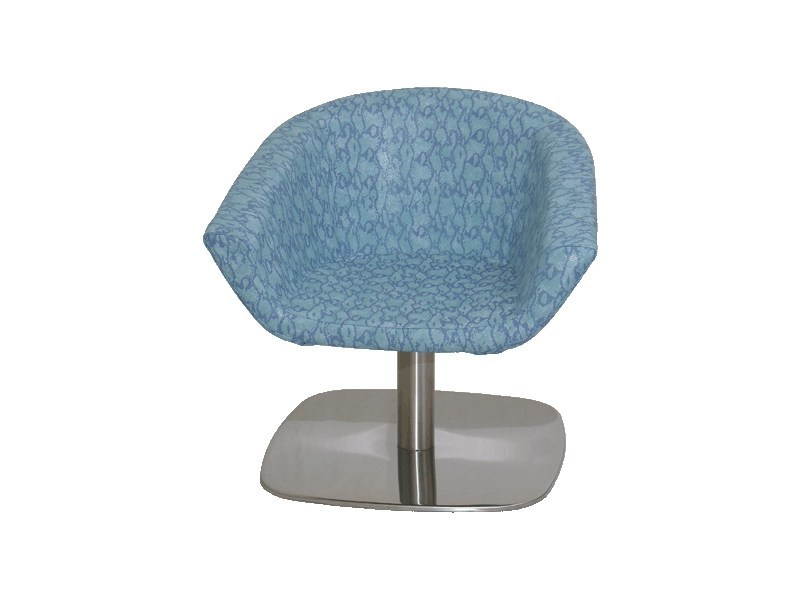 Swivel easy chair with armrests PL005 | Easy chair by Vela Arredamenti