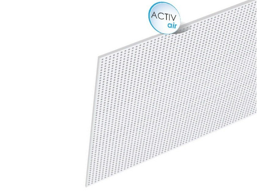 Acoustic Plasterboard Ceiling Tiles Rigitone Activair 8 15 20 By