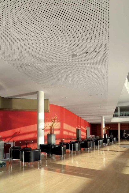 Acoustic Plasterboard Ceiling Panels Rigitone Activair 12 2066