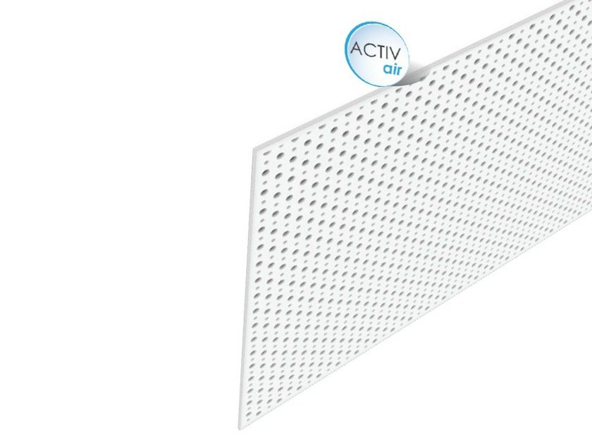 Acoustic Plasterboard Ceiling Panels Rigitone Activair 12 2066 By