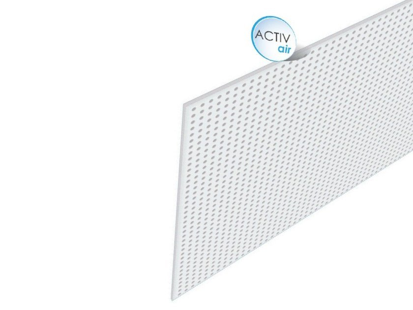 Ceiling tiles Rigitone™ Activ'Air® 15/30 by Saint-Gobain Gyproc