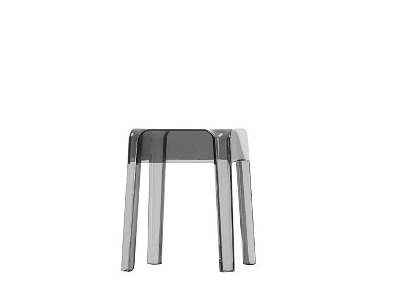 Stackable stool RUBIK | Low stool by PEDRALI