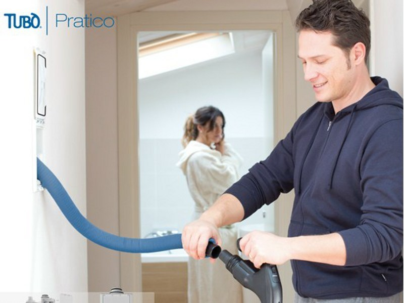 Central vacuum cleaner PRATICO by AERTECNICA