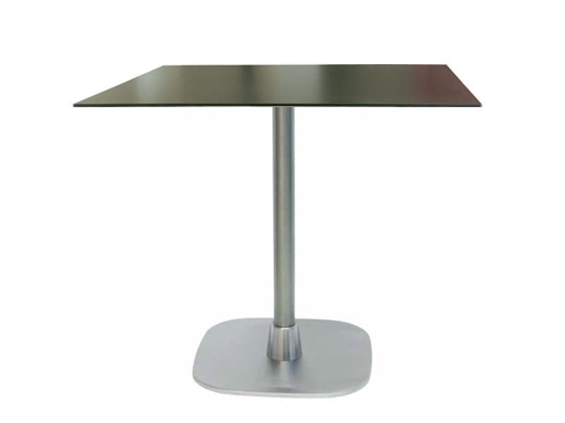 Stainless steel table RIFT by Vela Arredamenti