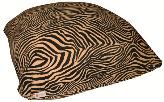 Cotton bean bag with removable lining CONFETTONE ZEBRA by Puffla