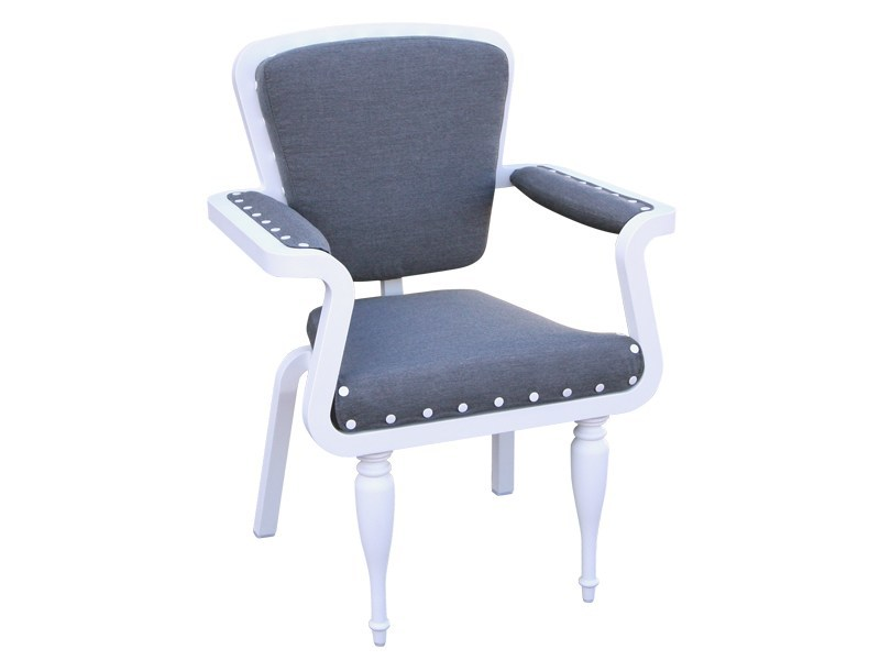 Stackable garden chair PARIS | Chair with armrests by Sérénité Luxury Monaco