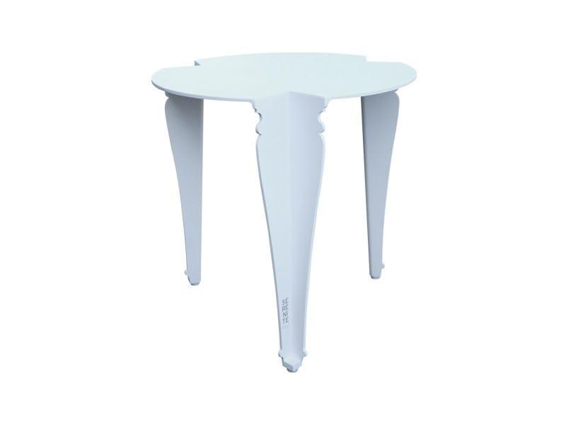 Aluminium side table PARIS | Side table by Sérénité Luxury Monaco