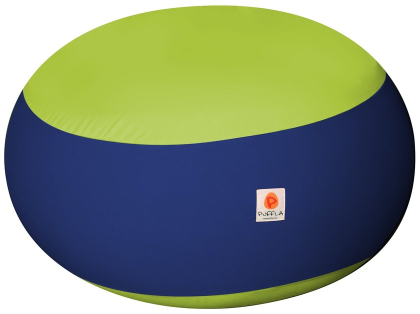 Cotton pouf with removable lining KIKKA by Puffla