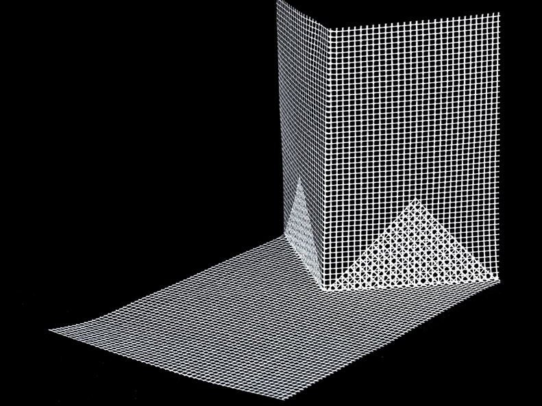 Mesh and textile for waterproofing NET SHAPE CORNER by EDINET