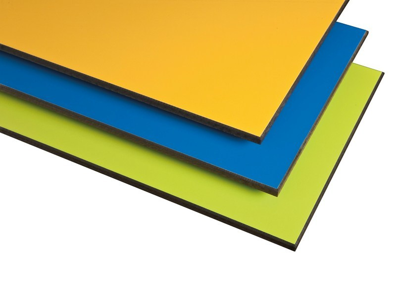 Laminate wall tiles COMPACT by Polyrey