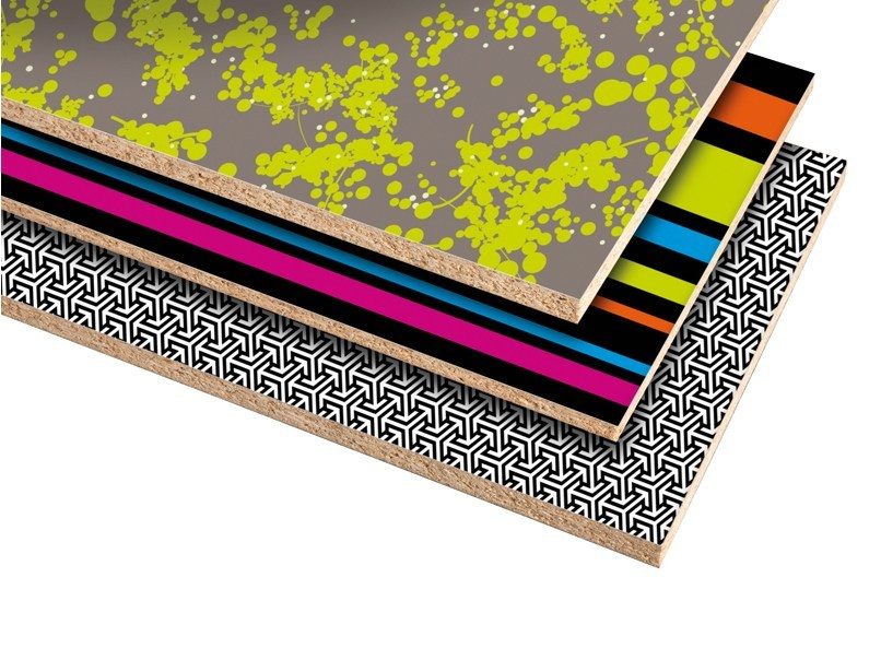 Laminate wall tiles DIGITAL PANEL by Polyrey