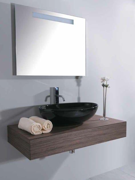 Single washbasin countertop MINIMAL 15 by Mastro Fiore