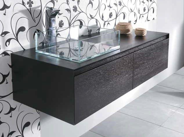 Single washbasin countertop MINIMAL 30 by Mastro Fiore