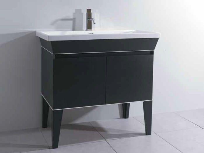 Vanity unit with doors MINIMAL DECO | Vanity unit by Mastro Fiore