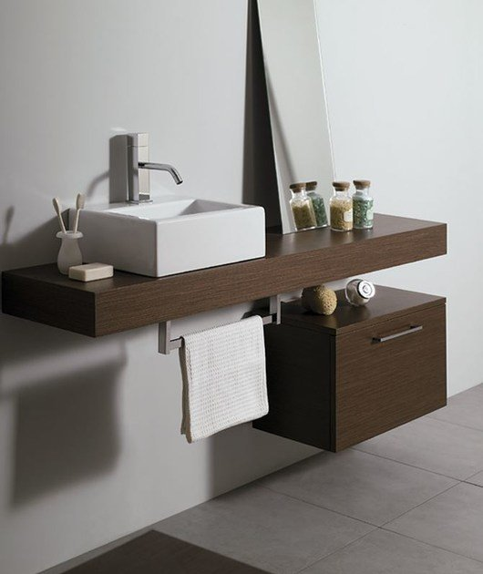 Washbasin countertop SYSTEM | Washbasin countertop by Mastro Fiore